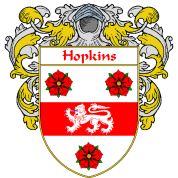 NORMAN hopkins-coat-of-arms-mantled