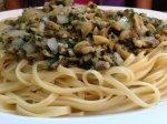 baby clam spaghetti