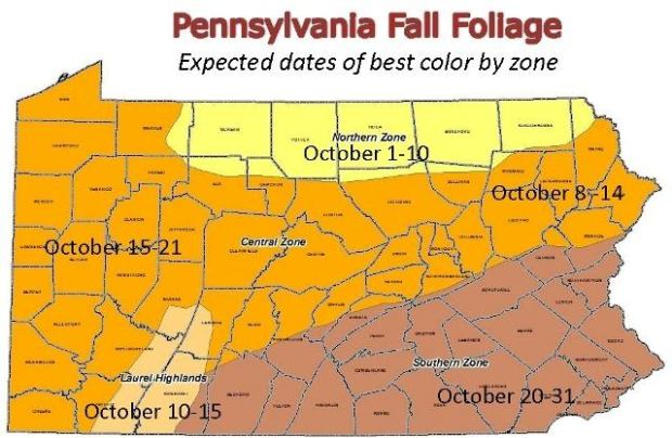 Fall Foliage Schedule